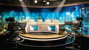 hypermoderní televizní studio Scientology Media Productions
