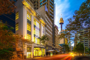 Scientologická církev Sydney Austrálie