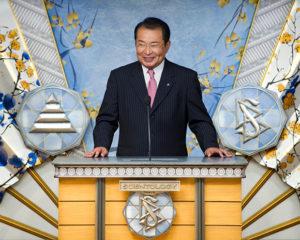pan MASAMI SAITO, člen parlamentu v prefektuře Miyagi o pomoci, které se mu dostalo od Scientologických dobrovolných duchovních
