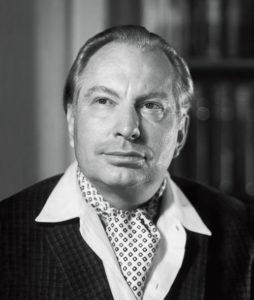 L. Ron Hubbard zakladatel Dianetiky a Scientologie