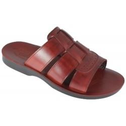 Pánské a dámské kožené pantofle