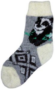 Vlněné ponožky a čepice